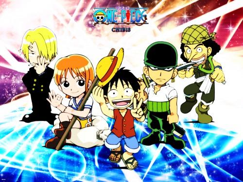 Eiichiro Oda, Toei Animation, One Piece, Roronoa Zoro, Monkey D. Luffy Wallpaper