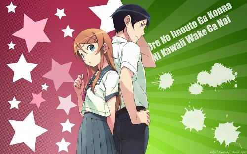Sakura Ikeda, Ore no Imouto ga Konna ni Kawaii Wake ga Nai, Kyousuke Kousaka, Kirino Kousaka Wallpaper