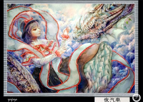 Yogisya, Touhou Project Tribute Arts - Fragment 1, Touhou, Iku Nagae
