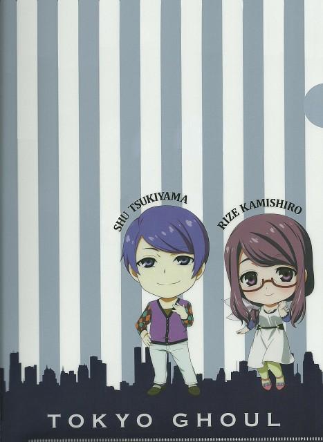 Tokyo Ghoul, Rize Kamishiro, Shu Tsukiyama, Pencil Board