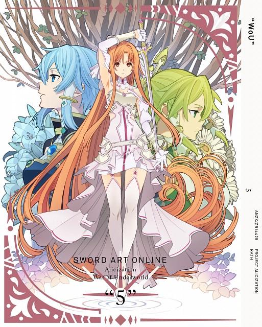 Abec, A-1 Pictures, Sword Art Online, Leafa, Asuna Yuuki