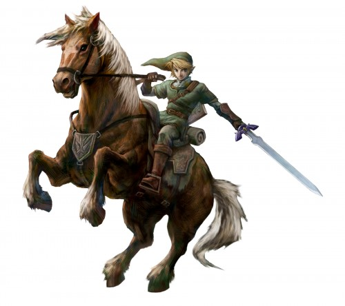 Nintendo, The Legend of Zelda, The Legend of Zelda: Twilight Princess, Epona, Link