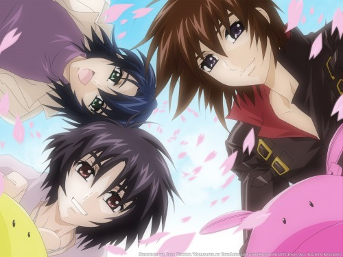 Sunrise (Studio), Mobile Suit Gundam SEED Destiny, Athrun Zala, Shinn Asuka, Kira Yamato Wallpaper