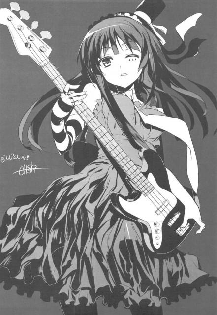 Ch@r, Kakifly, Kyoto Animation, K-On!, Mio Akiyama