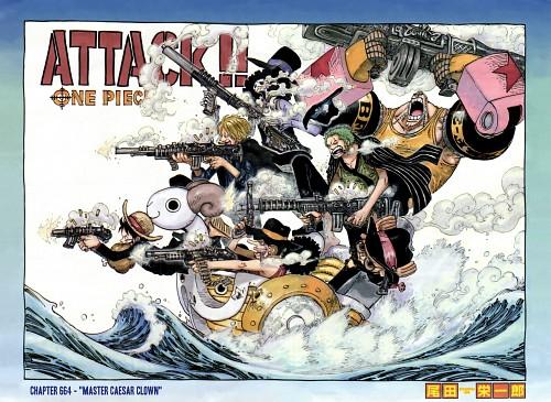 Eiichiro Oda, Toei Animation, One Piece, Brook, Sanji