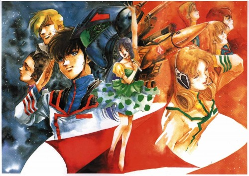 Haruhiko Mikimoto, Bandai Visual, Tatsunoko Production, Macross, Maximilian Jenius