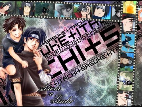 Masashi Kishimoto, Studio Pierrot, Naruto, Sasuke Uchiha, Itachi Uchiha Wallpaper