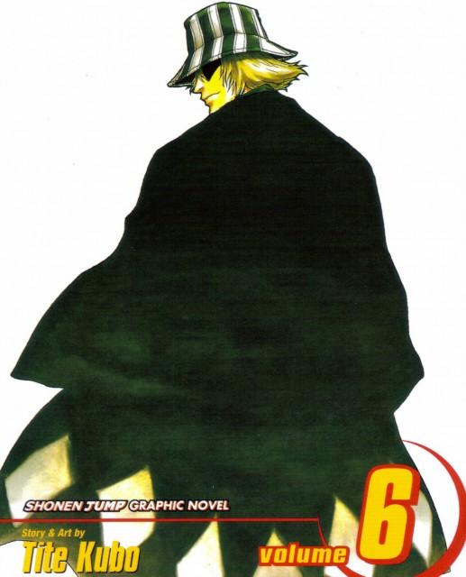 Kubo Tite, Bleach, Kisuke Urahara, Manga Cover