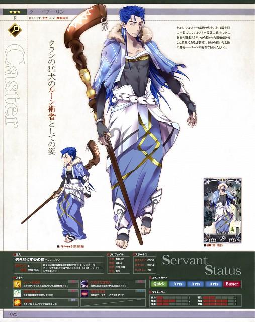 Azuazuazu19, TYPE-MOON, Fate/Grand Order, Lancer (Fate/stay night)