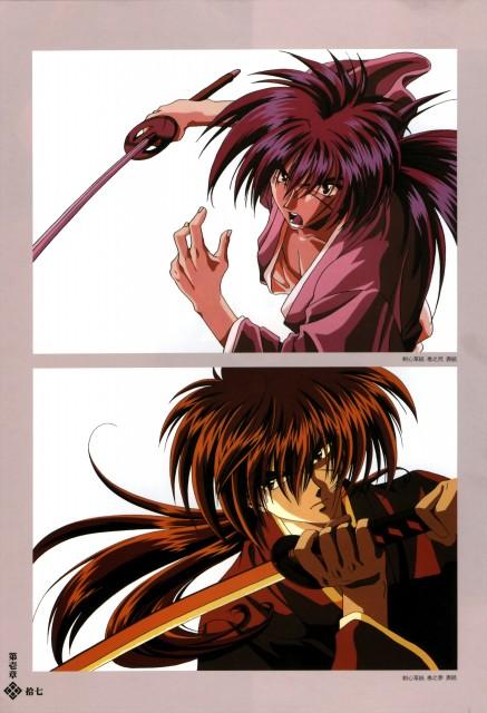 Nobuhiro Watsuki, Studio DEEN, Studio Gallop, Rurouni Kenshin, Fight - Artbook IV
