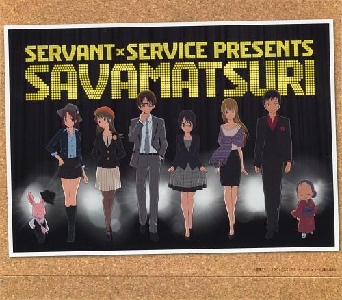 A-1 Pictures, Servant x Service, Yutaka Hasebe, Jouji Tanaka, Megumi Chihaya