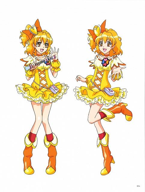 Toei Animation, Fresh Precure!, Hisashi Kagawa Toei Animation Precure Works, Cure Pine