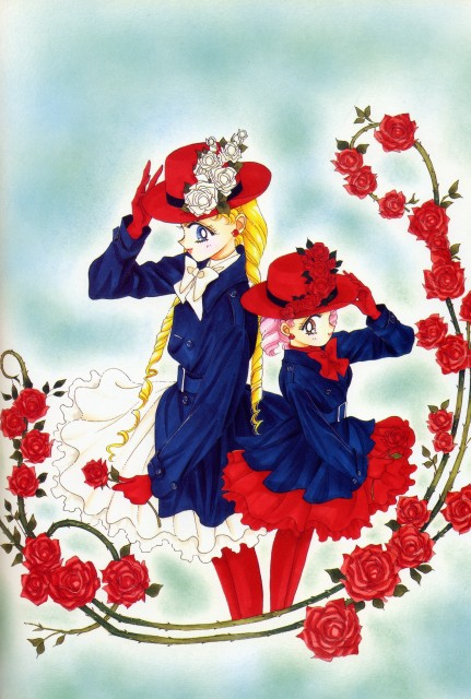Naoko Takeuchi, Bishoujo Senshi Sailor Moon, BSSM Original Picture Collection Vol. IV, Usagi Tsukino, Chibi Usa