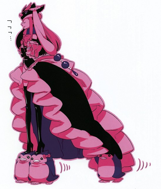 Lily Hoshino, Brains Base, Mawaru Penguindrum, Princess Of The Crystal, Himari Takakura