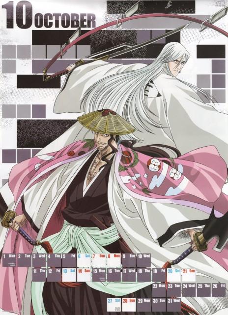 Studio Pierrot, Bleach, Bleach 2007 Calendar, Shunsui Kyouraku, Juushirou Ukitake