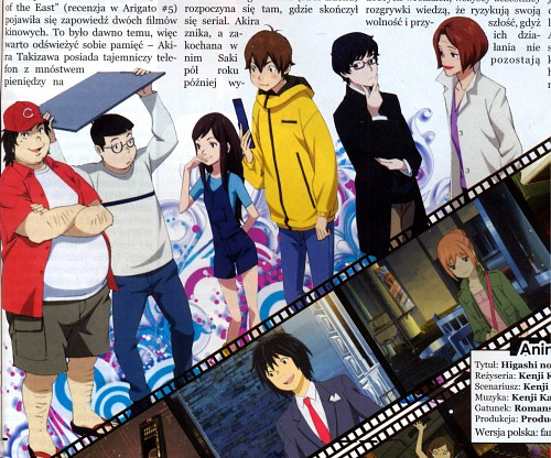 Chika Umino, Production I.G, Eden of the East, O-nee, Saki Morimi