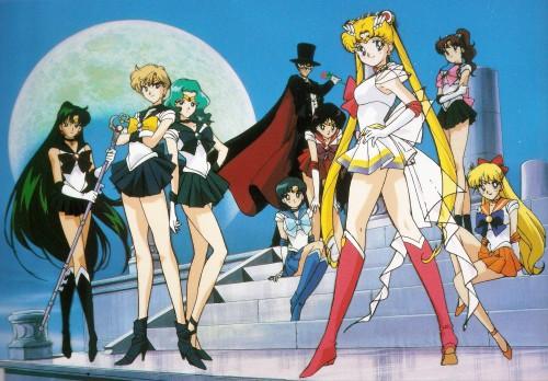Toei Animation, Bishoujo Senshi Sailor Moon, Sailor Mercury, Sailor Neptune, Tuxedo Kamen
