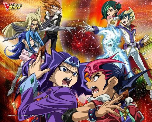 Kazuki Takahashi, Studio Gallop, Yu-Gi-Oh ZEXAL, Rio Kamishiro, Kaito Tenjo