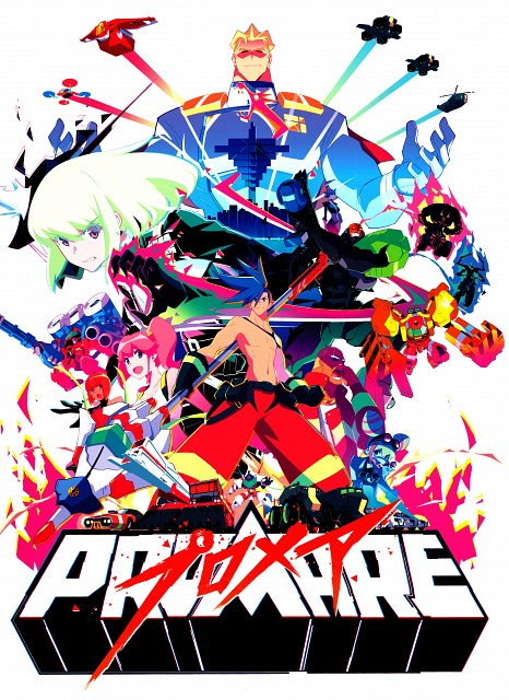 Koyama Shigeto, XFlag, Trigger (Studio), Promare, Vulcan Haestus