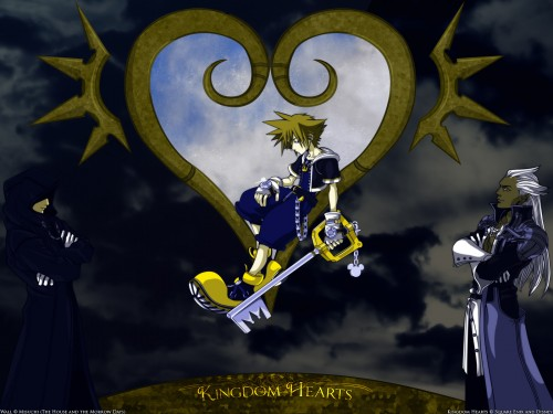 Square Enix, Kingdom Hearts, Sora, Ansem the Seeker of Darkness Wallpaper