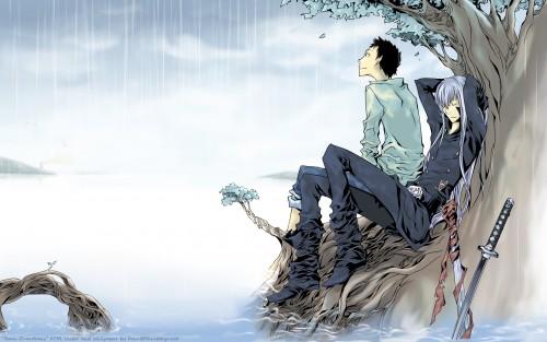 Akira Amano, Artland, Katekyo Hitman Reborn!, Takeshi Yamamoto, Superbi Squalo Wallpaper