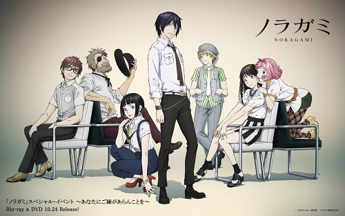 Toka Adachi, BONES, Noragami, Hiyori Iki, Kofuku