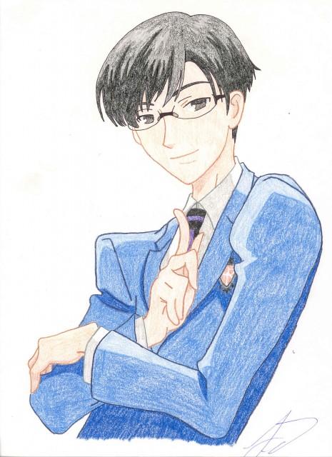Ouran High School Host Club, Kyoya Ootori, Member Art