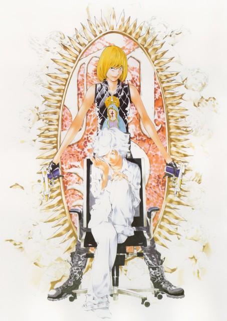 Takeshi Obata, Death Note, Blanc et Noir, Mello, Near