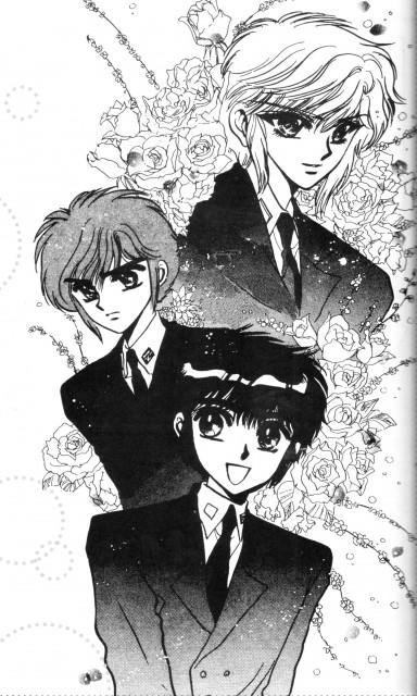 CLAMP, Studio Pierrot, CLAMP School Detectives, Akira Ijyuin, Suoh Takamura