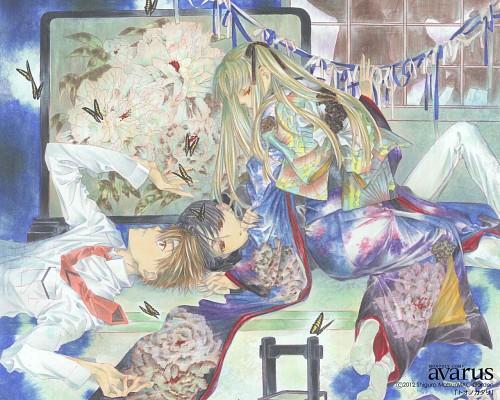 Shigura Matsu, Toono Katari, Official Wallpaper
