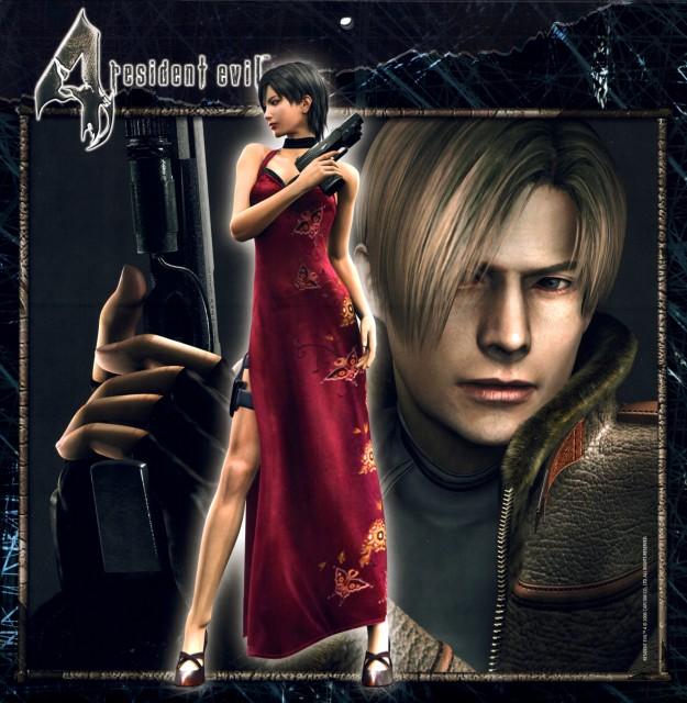 Capcom, Resident Evil 4, Ada Wong, Leon S. Kennedy, Official Digital Art