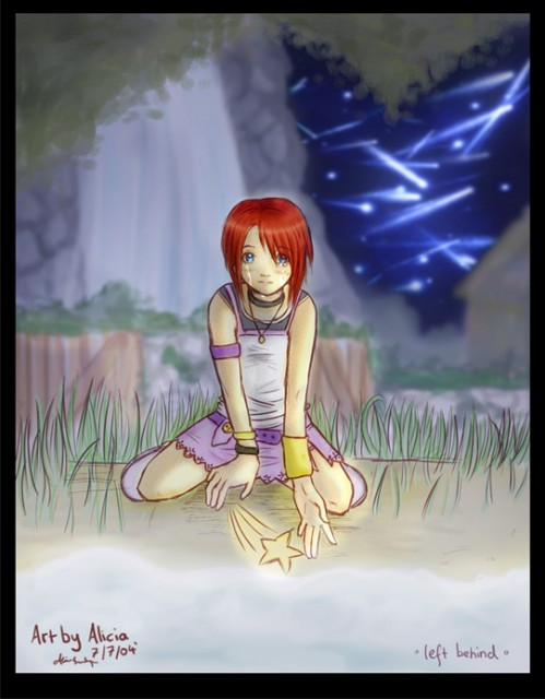 Kingdom Hearts, Kairi, Member Art