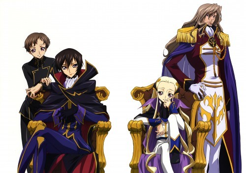 Sunrise (Studio), Lelouch of the Rebellion, Code Geass Illustrations Relation, V.V., Charles Di Britannia