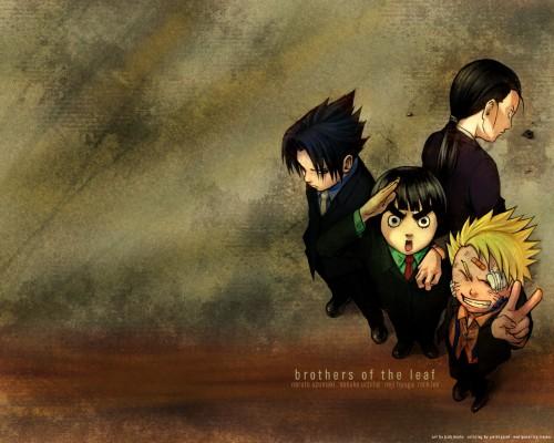 Masashi Kishimoto, Studio Pierrot, Naruto, Neji Hyuuga, Rock Lee Wallpaper