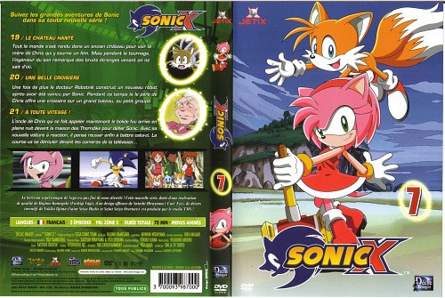 TMS Entertainment, Sega, Sonic the Hedgehog, Amy Rose, Miles Prower
