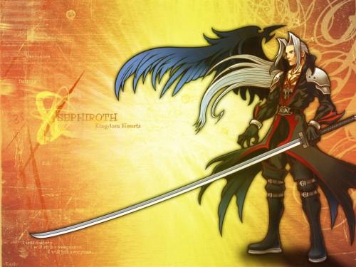 Square Enix, Kingdom Hearts, Sephiroth Wallpaper