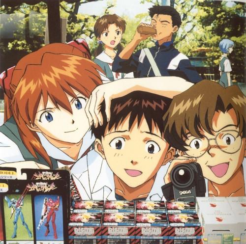 Yoshiyuki Sadamoto, Neon Genesis Evangelion, Die Sterne, Shinji Ikari, Asuka Langley Soryu