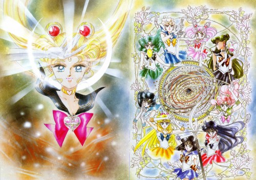 Naoko Takeuchi, Bishoujo Senshi Sailor Moon, BSSM Original Picture Collection Vol. III, Sailor Jupiter, Sailor Pluto