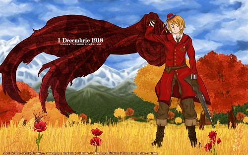 Hidekaz Himaruya, Studio DEEN, Hetalia: Axis Powers, Romania Wallpaper