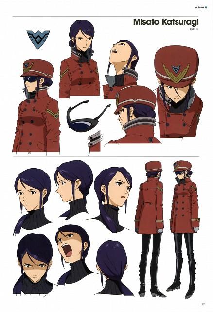 Gainax, Khara, Neon Genesis Evangelion, Evangelion 3.0 Theatrical Booklet, Misato Katsuragi