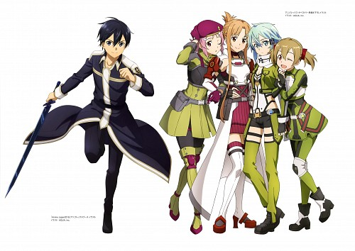 Abec, A-1 Pictures, SAO Alicization Animation Artworks, Sword Art Online, Sinon