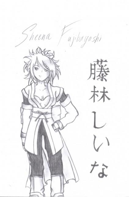Tales of Symphonia, Sheena Fujibayashi, Member Art
