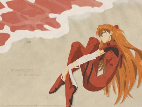 Yoshiyuki Sadamoto, Neon Genesis Evangelion, Asuka Langley Soryu, Vector Art Wallpaper