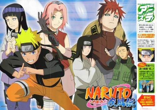 Studio Pierrot, Naruto, Sakura Haruno, Shikamaru Nara, Gaara