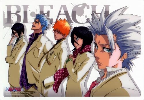 Studio Pierrot, Bleach, Grimmjow Jeagerjaques, Ichigo Kurosaki, Rukia Kuchiki
