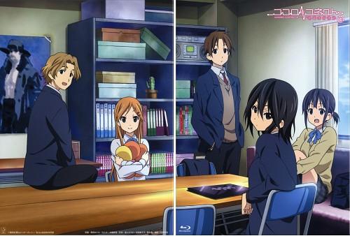 Silver Link, Kokoro Connect, Himeko Inaba, Yoshifumi Aoki, Yui Kiriyama