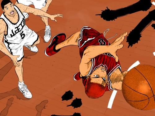 Takehiko Inoue, Slam Dunk, Hanamichi Sakuragi Wallpaper