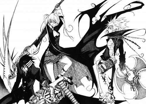 Takatoshi Shiozawa, Soul Eater, Death The Kid, Patty Thompson, Liz Thompson