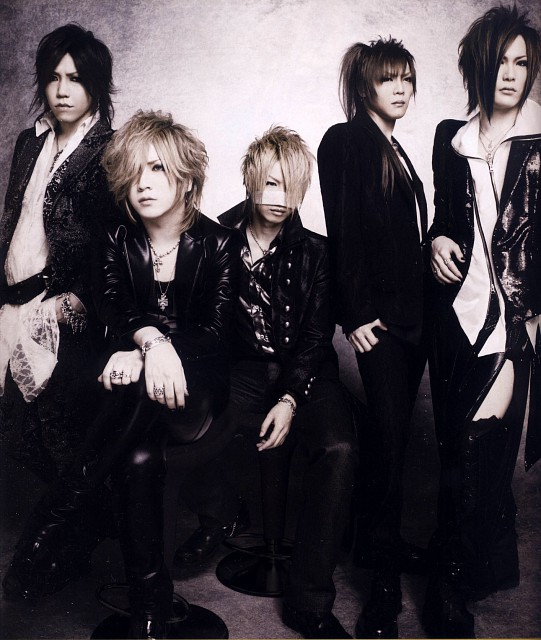 Aoi (J-Pop Idol), Reita, Ruki, Gazette, Kai