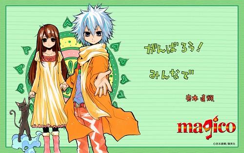 Naoki Iwamoto, Magico, Anise (Magico), Shion Elpihas Levi, Emma (Magico)